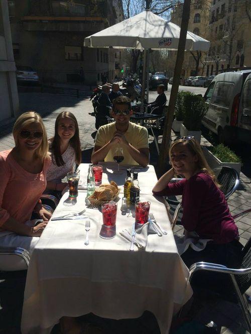 Spanish Family Outdoor