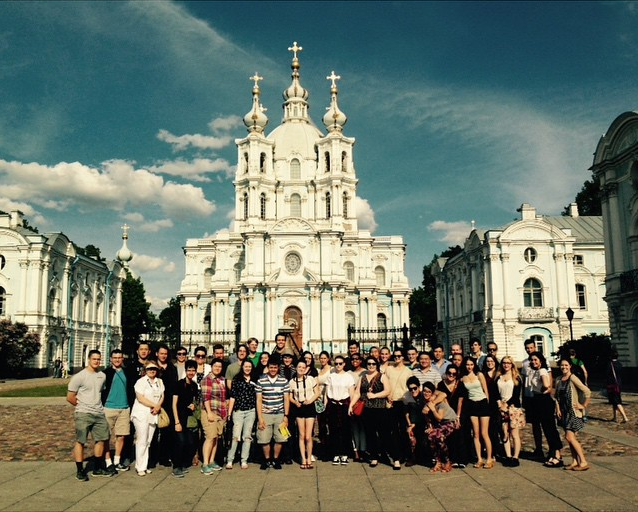 1. First day RLP in front of Smolny