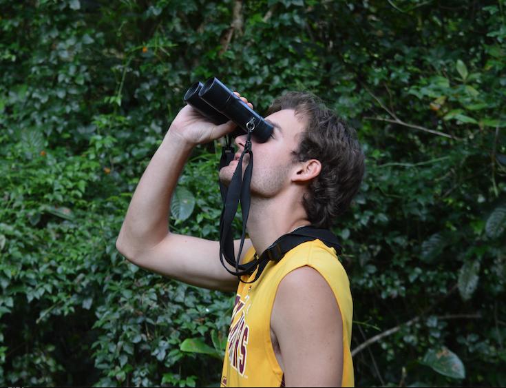 Zach Birdwatching