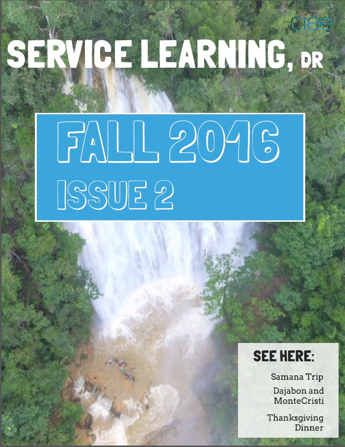 Newsletter Fall 2016, Issue 2 Cover