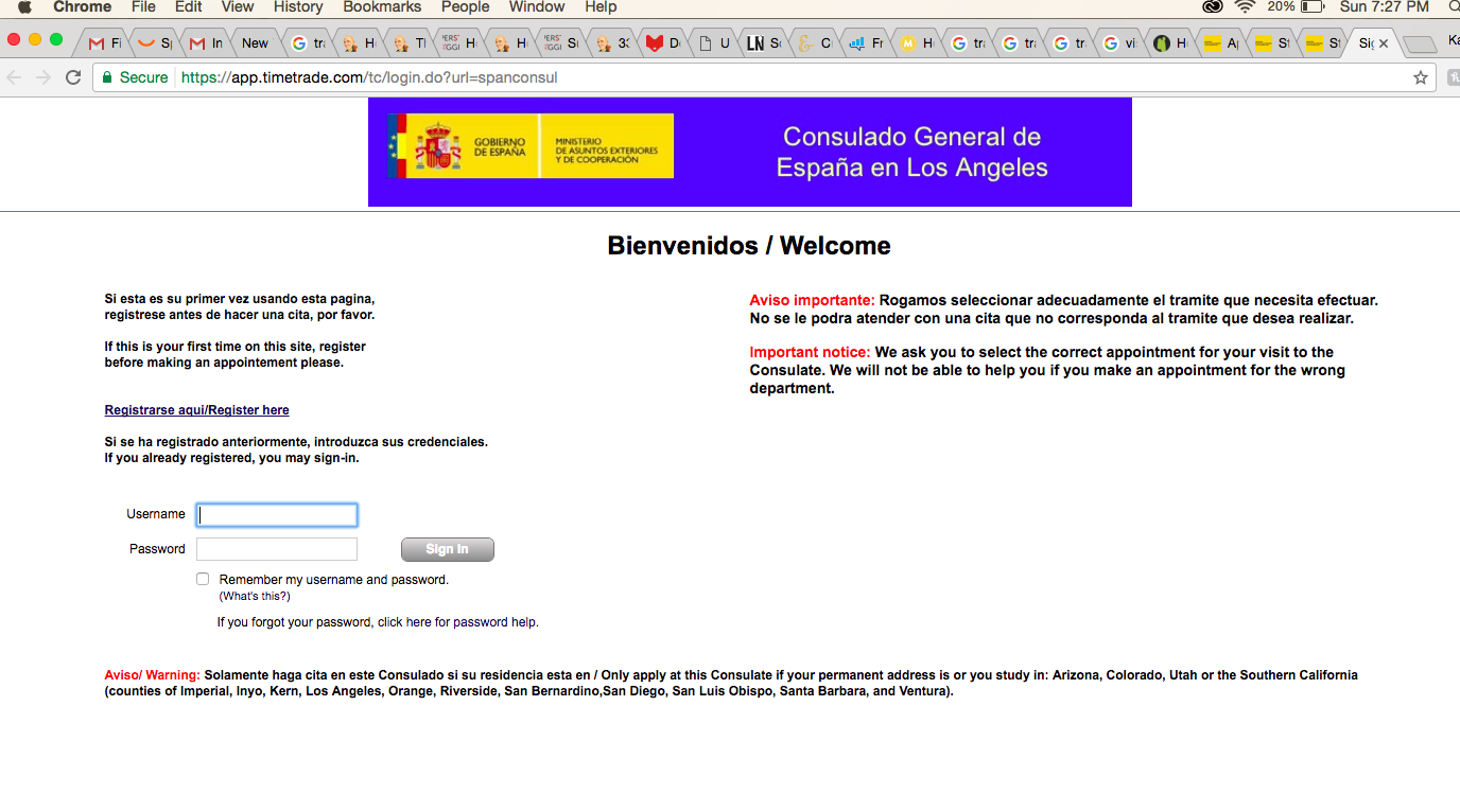 """They Will Email You Appointment Confirmation And It Will Be Titled €�the  Consulate General Of Spain In Los Angeles Appointment Confirmation"""""""
