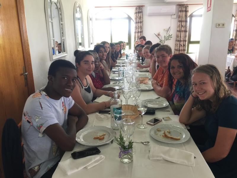 Paella table 2