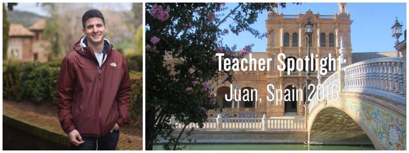 Juan header with text