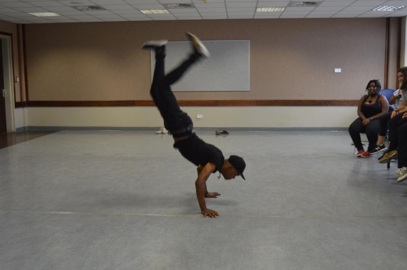 Thabang dancer