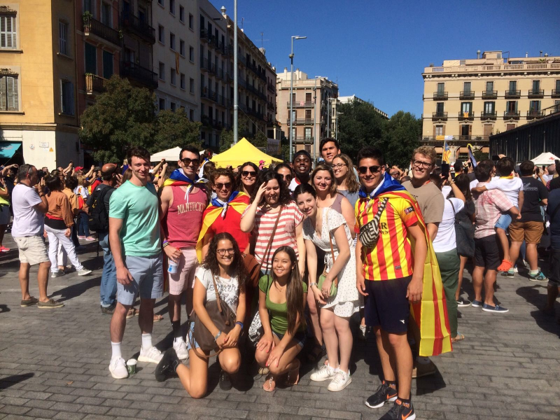 Diada Castellers ALL students