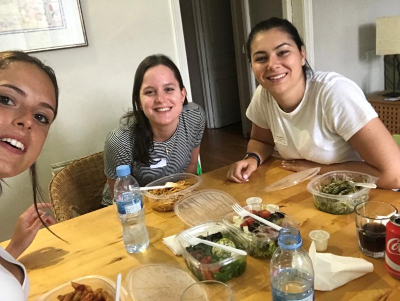 Sara Martín_lunch