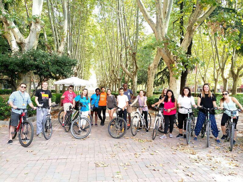 Bike tour Madrid