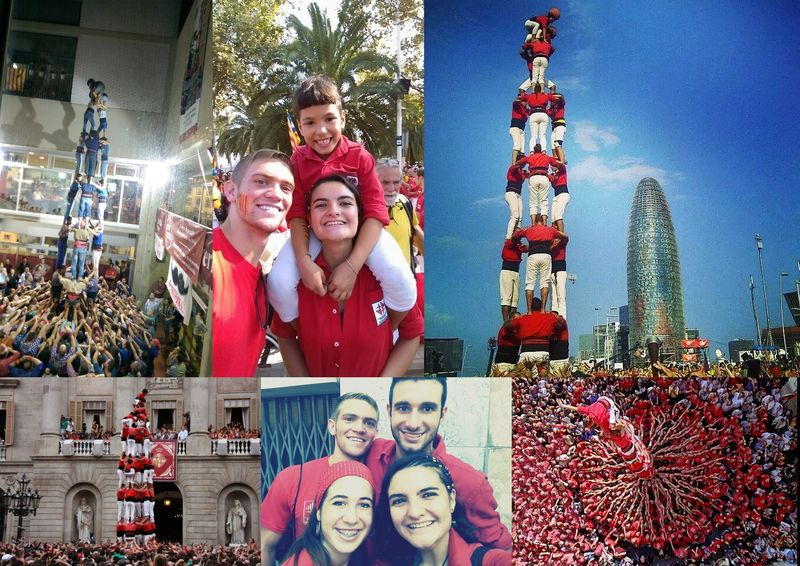 Castellers Collage