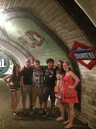 Underground metro 1