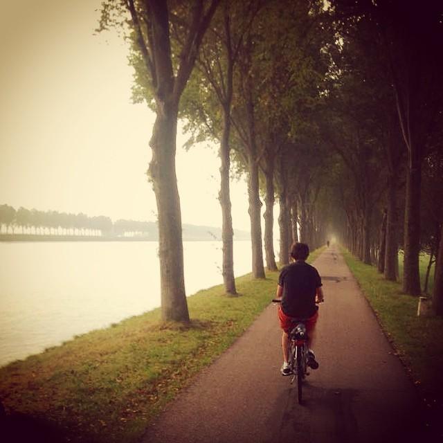 Aaron Friedman Heiman_Jo Money_Jordan Shaw biking to Utrecht_October_Nature or People