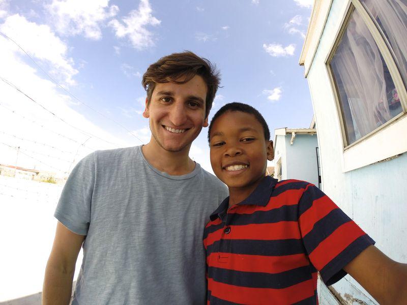 Chris Grava_ With kid GoPRo