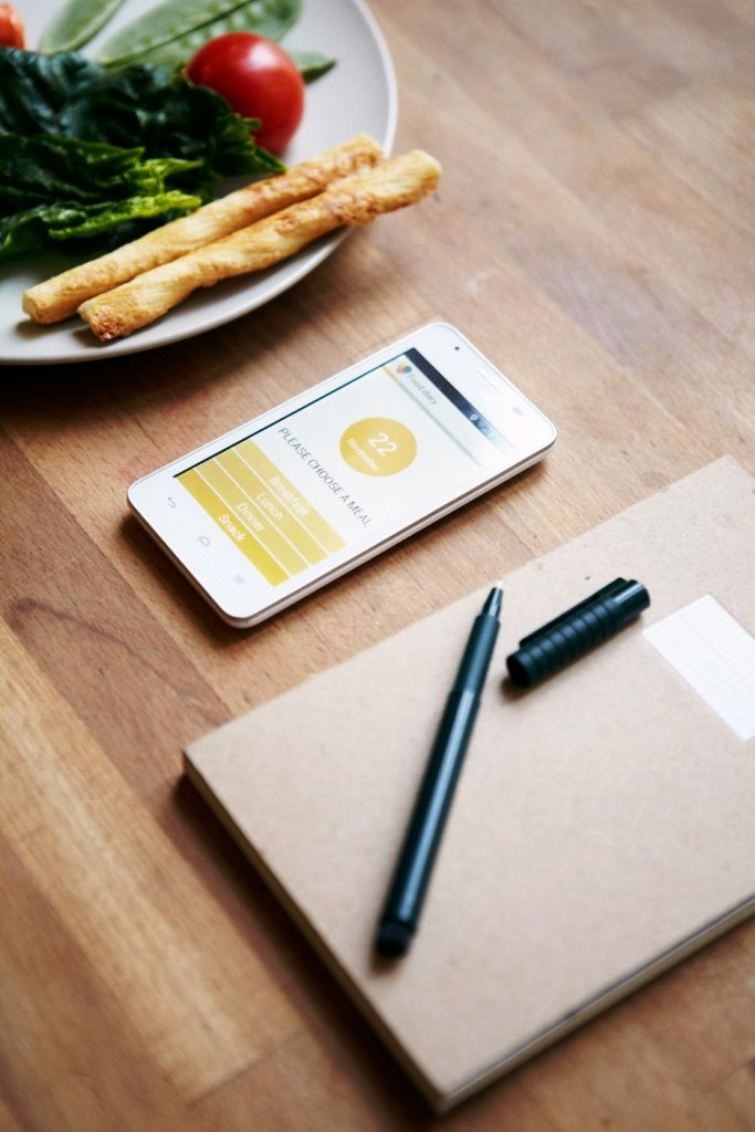 4. Food diaries are usually filled out on paper%2c but the Jourvie app offers a different approach_Photo by Felix Strosetzki