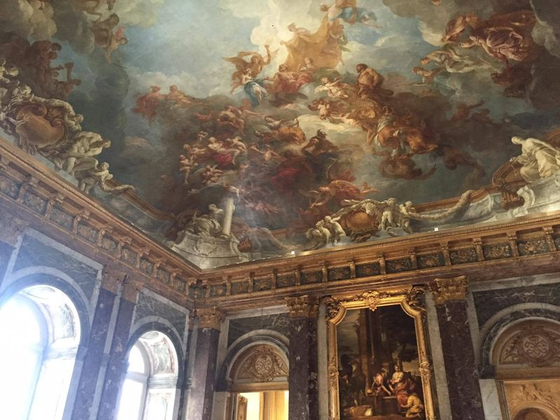 Versailles ceiling paintings