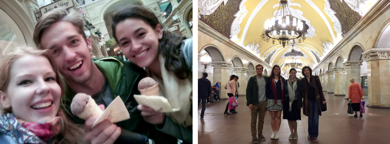 Moscow City Quest and Moscow Metro Tour