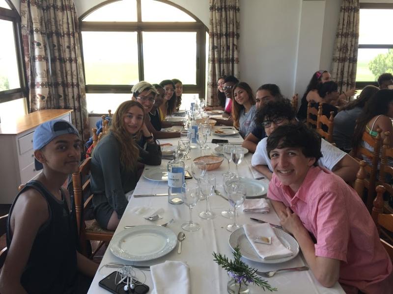 Paella table 3