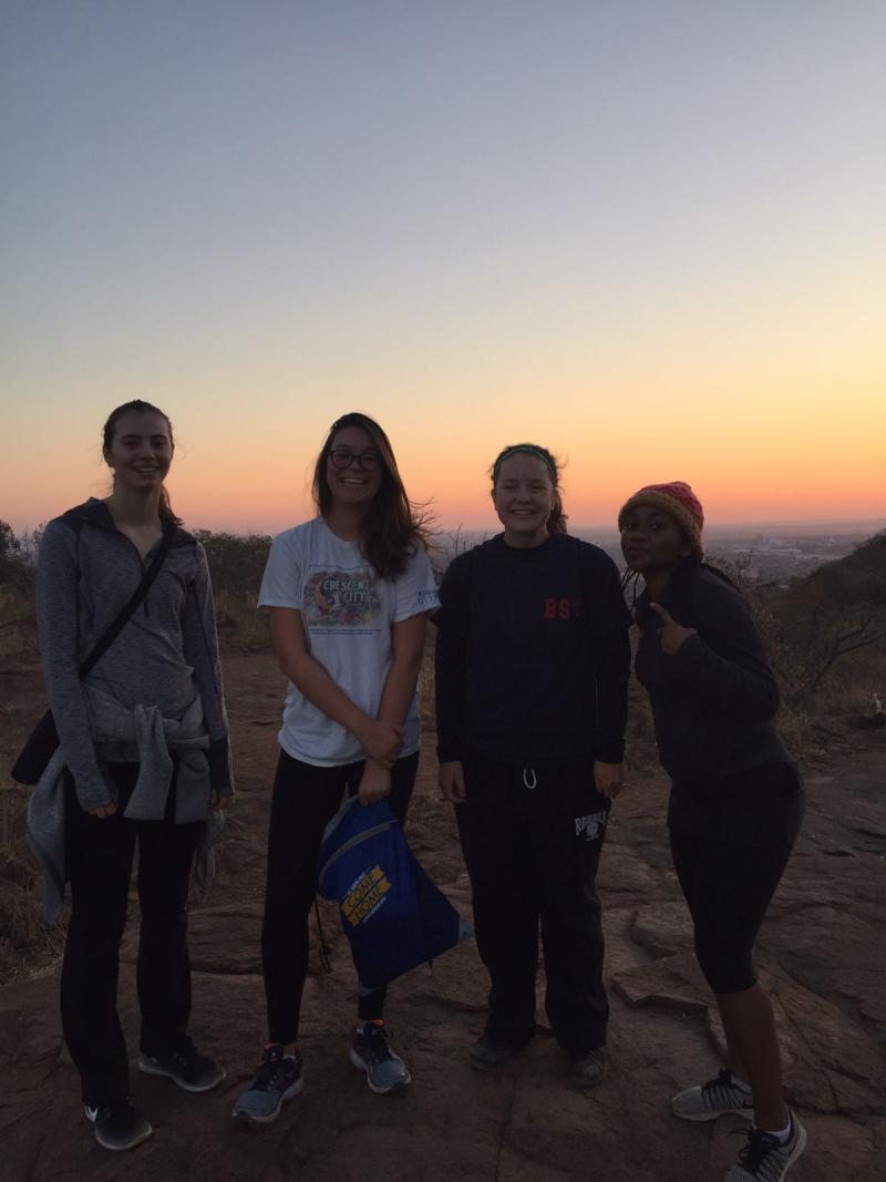 Kgale hill hike