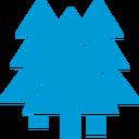 Tree_#009ad7_128px