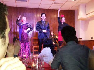 Cortijo dancers night