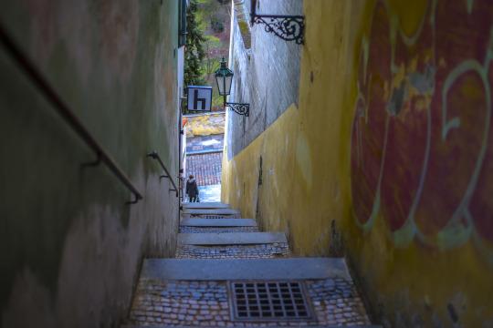 Prague's hidden spaces