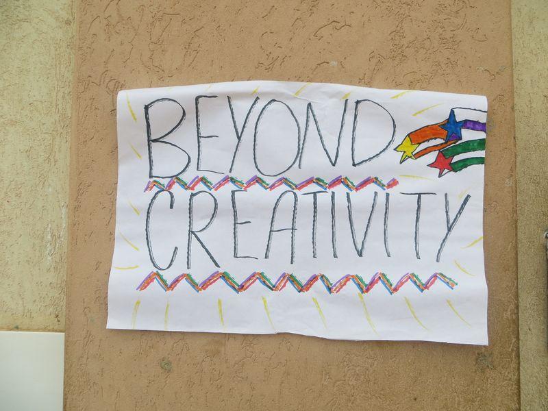 Beyond creativity poster