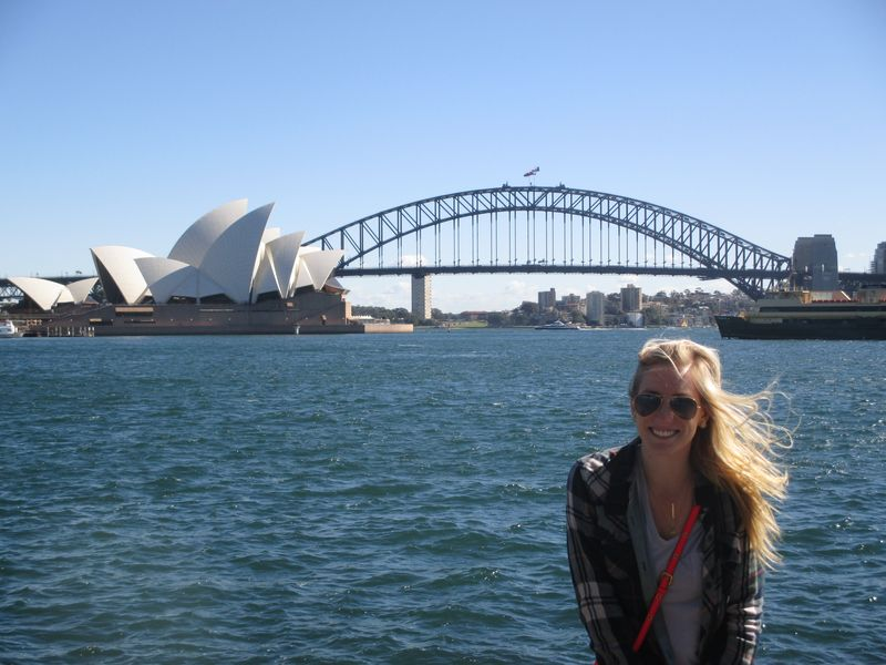 View from Mrs. Macquarie's Chair in Sydney