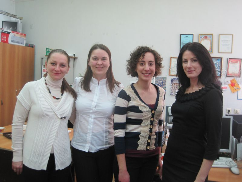 With Teachers from the kafedra