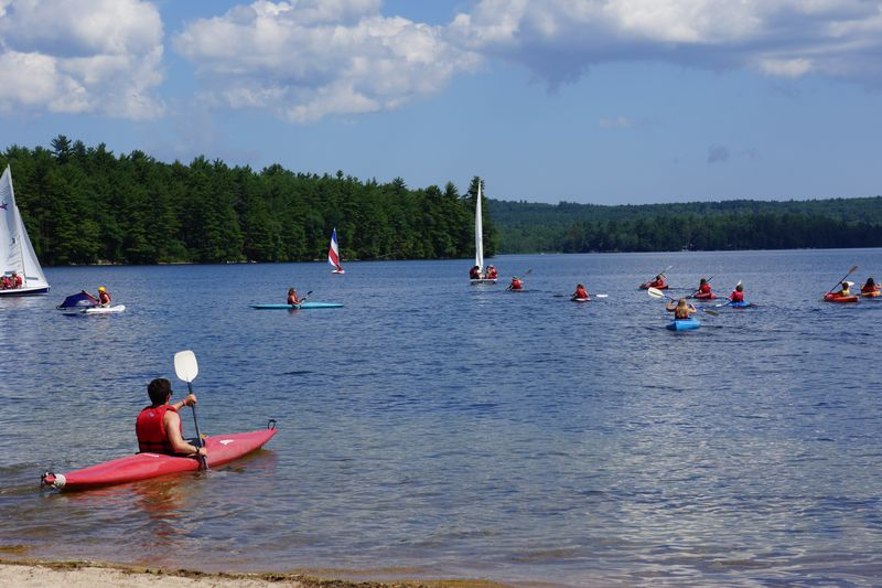 Kingsley Pines - Counselor Kayaking