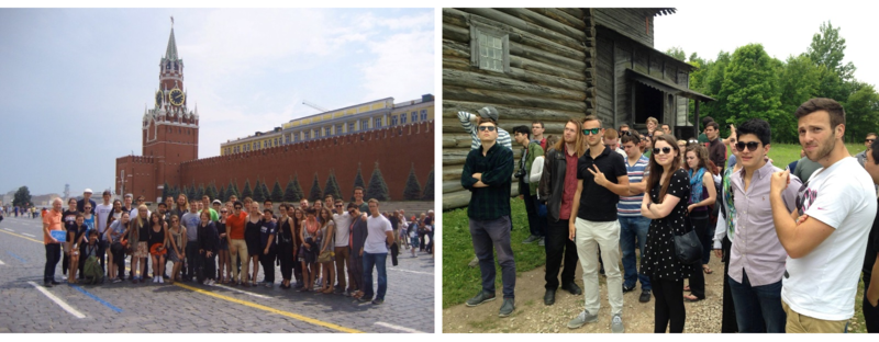 8. CIEE students travel beyond Petersburg