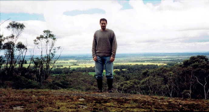 William Stone in the Porongurup Mountain Range, Western Australia