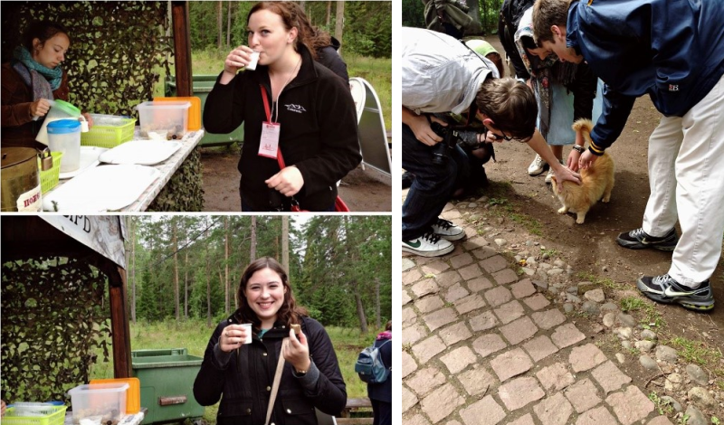 Valaam food tasting + playing with cats