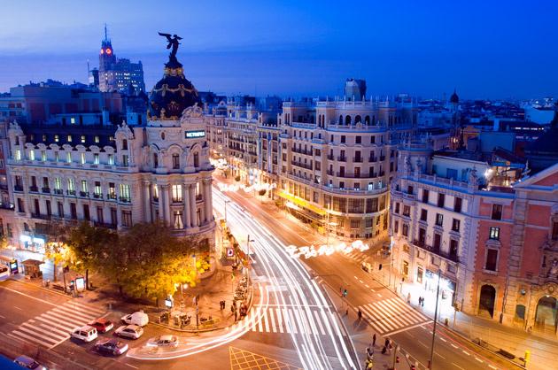 Madrid at Night (1)
