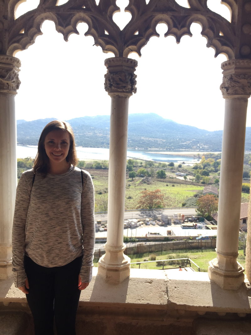 Me at the castle