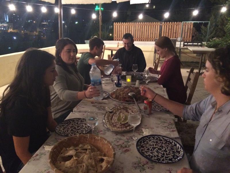 Beit Sitti. Eating (2)