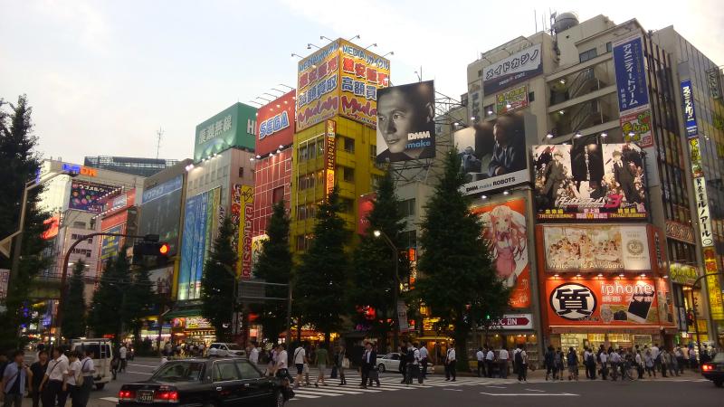 Visiting Akihabara