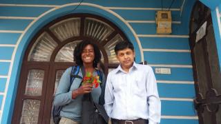 Birendra y yo