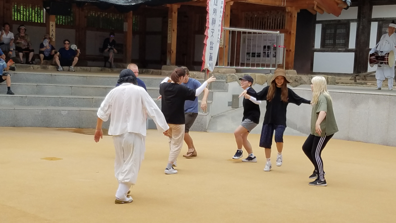 Mask dance 2