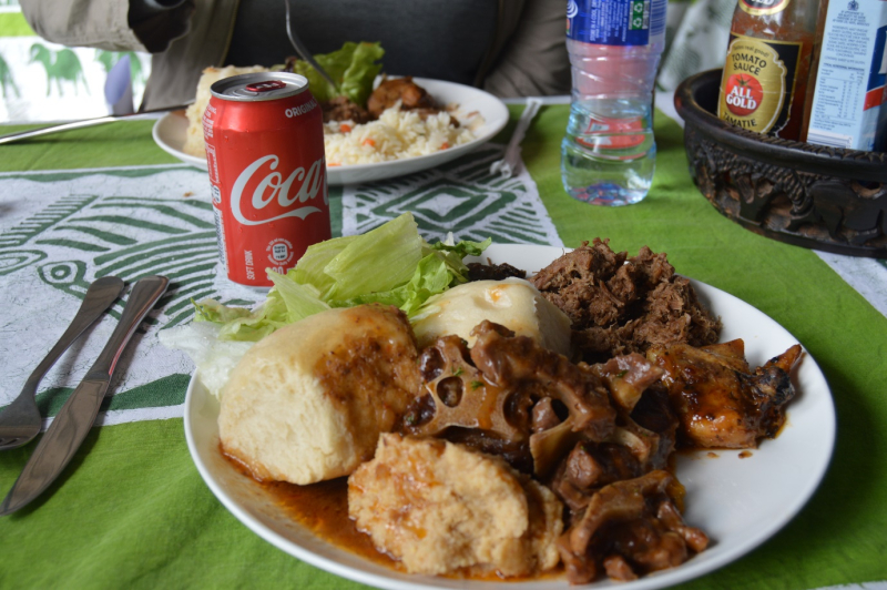Botswana Craft food