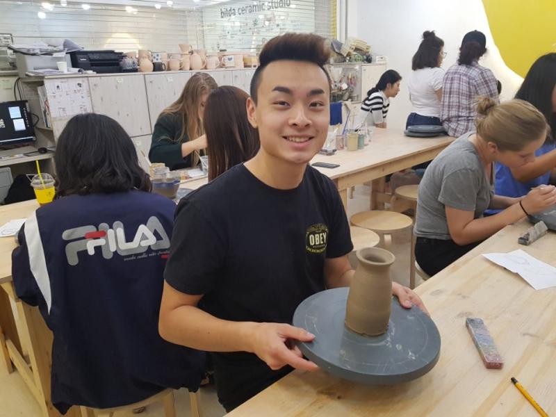 Seoul Mattes indiv pottery