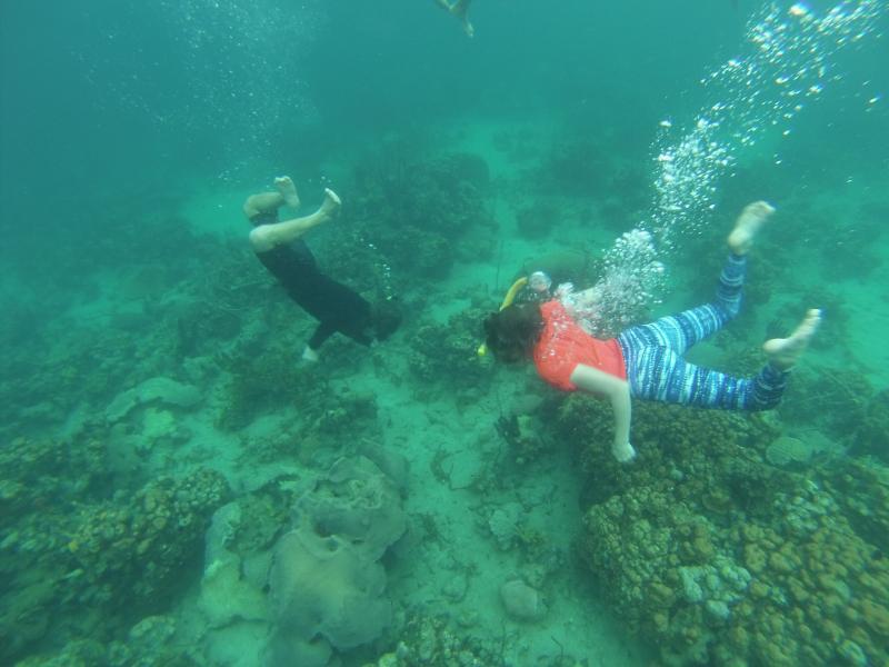 Sandy&Duncan?Snorkeling(bocas)